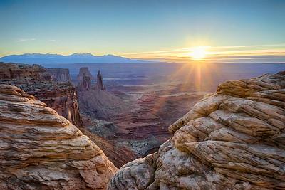 Mesa Arch Valley Sunrise