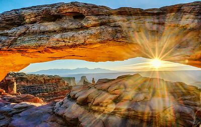 Mesa Arch Sundisk