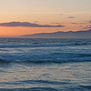Sunset at Venice Beach.