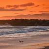 Sunset over Venice Beach. Taken with Cokin Orange graduated filter.