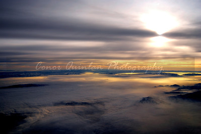 Taken in an airplanes during a flight home from Park City Utah. Sunsets are one of the worlds most amazing natural phenomenon.