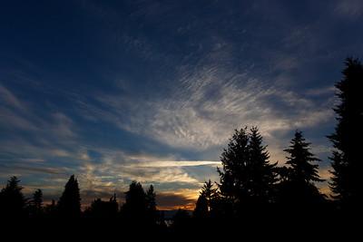 Sunset (April 30, 2014)