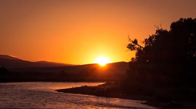 Caddis Fly Sunset