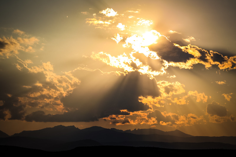 Bighorn Sunset