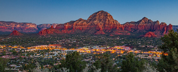 Sedona, AZ at sunrise