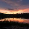 Sunset Over Lake Brooker