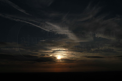 """""""The Sunset"""" - From Lookout Mountain Flight Park Flight Deck © 2013 Lloyd Kenney III, All Rights Reserved."""