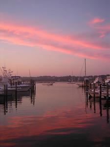 Tripps Boatyard, Westport, MA 8-15-06, 7:45pm