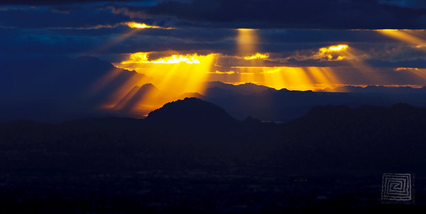 """Sunstruck"", Tucson Mountains, Arizona."