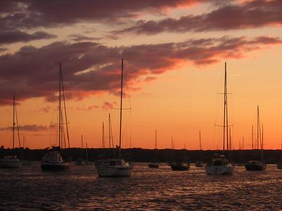 Tripps Boatyard, Westport, MA 8-8-06
