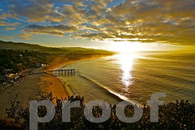 Malibu at Sunrise