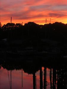 Pocasset River 7 pm 10-1-07