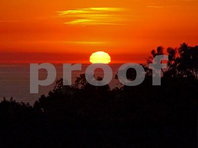 Orange Yellow Sunset
