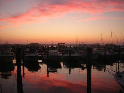 Tripps Boatyard, Westport, MA 8-15-06, 7:55pm
