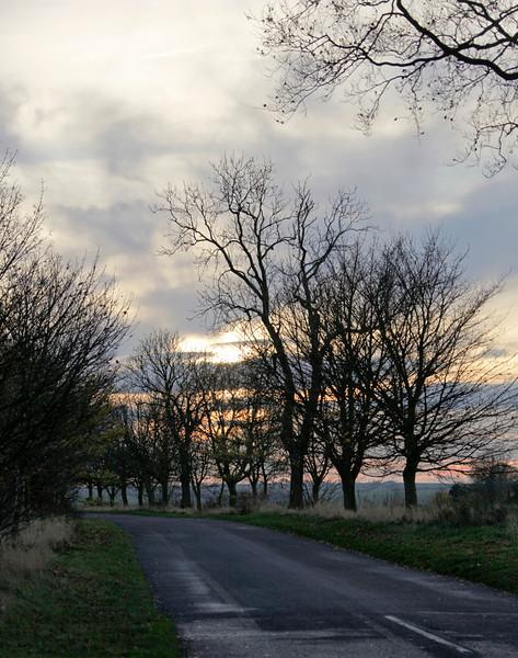 Sunset near Boston - November 2012