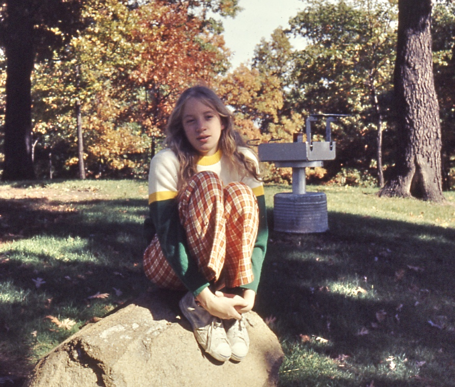 Heather, in October of 1972. My first attempt using Aperture.