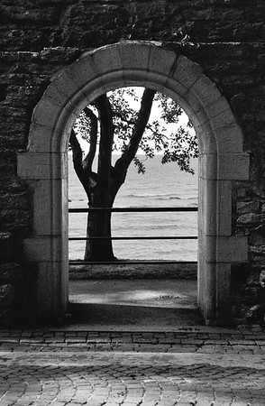 Portal on the Baltic Sea, Visby, Sweden