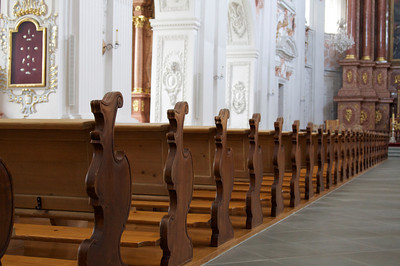 Pews, Church of St. Leodegar - Lucerne