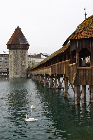 Kapellbrücke (Chapel Bridge) tower - Lucerne