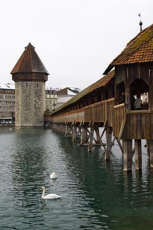 Kapellbrücke (Chapel Bridge) tower - Lucerne