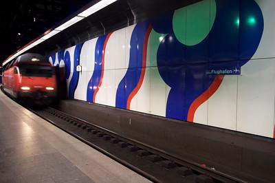 Subway train - Zurich
