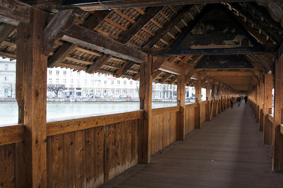 Kapellbrücke (Chapel Bridge) - Lucerne