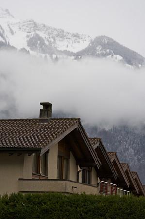 House row - Interlaken