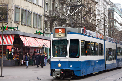 Streetcar - Zurich