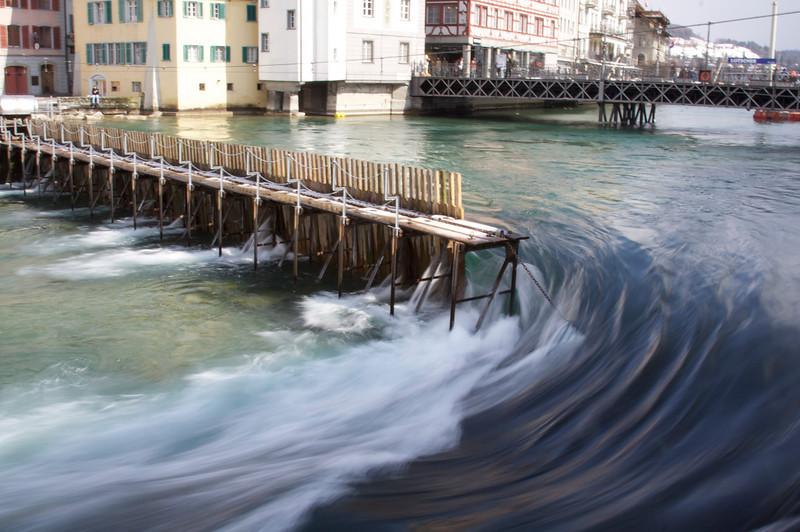 Needle dam, Reuss River - Lucerne