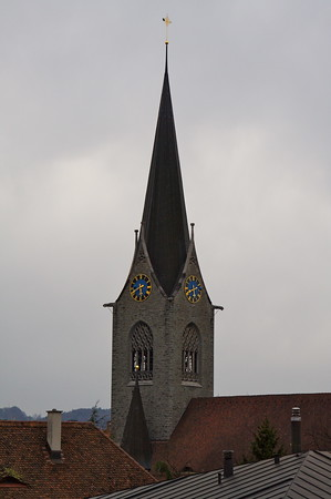 Church steeple - Lucerne