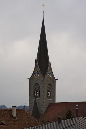 Church steeple - Lucerne