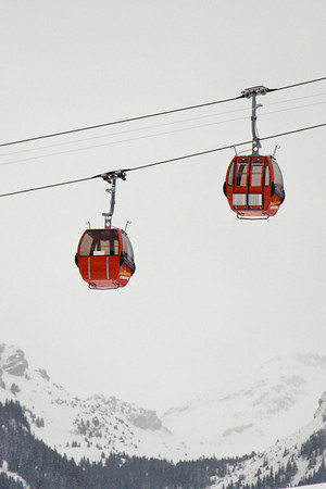 Ski cable cars - Zweisimmen