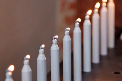 Candles, Church of St. Leodegar - Lucerne