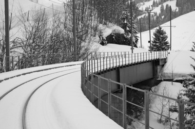 Train bridge - Zweisimmen
