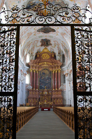 Entryway, Church of St. Leodegar - Lucerne