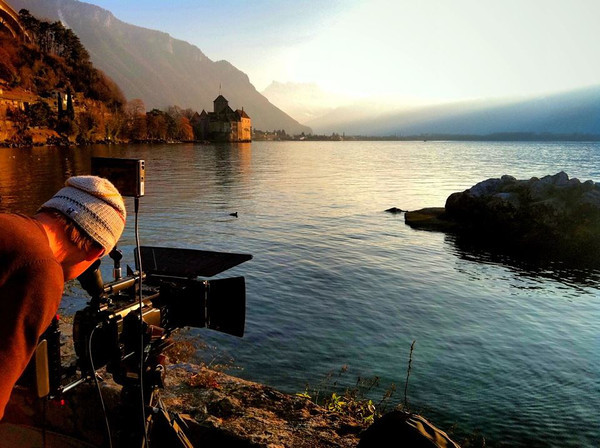 Montreux, Switzerland. Photo by Ben Eshbach. January 2012.