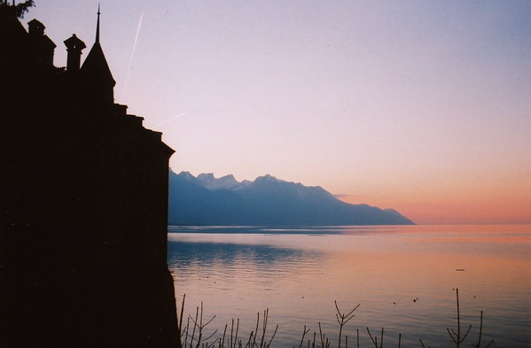 Veytaux, Switzerland. Photo by Steve Elkins. January 2012. 35mm film.