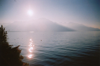 Switzerland. Photo by Steve Elkins. 35mm film.