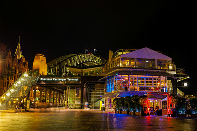 Sydney. Overseas Passenger Terminal at the harbor.
