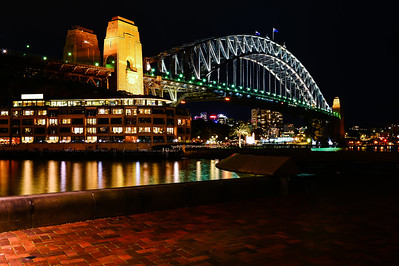 Sydney Harbour Bridge.