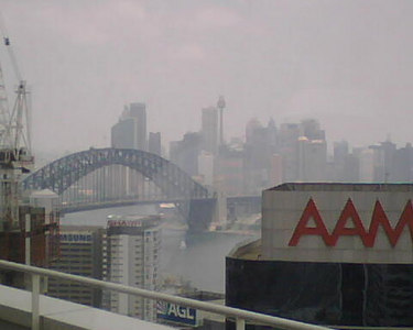 Sydney Accenture Office View - Jan 2007