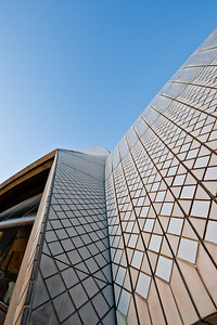 OH 108   Sydney, Australia, Opera House.  Roof tiles show color and design.