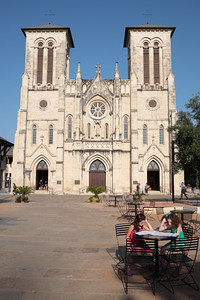 Cathedral San Fernando de Bexar. This active cathedral in downtown San Antonio houses the remains of the heroes of the Alamo--Davy Crockett, William Travis, and Jim Bowie.
