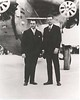 Juan Terry Trippe (Founder of PAN AMERICAN WORLD AIRWAYS) and Charles Lindbergh.