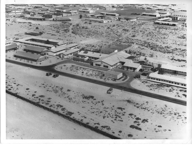 Sharjah camp from air