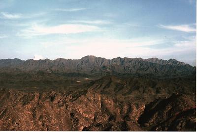 Hills surrounding Manama 1966