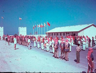 Murqab Camp entrance Ceremony