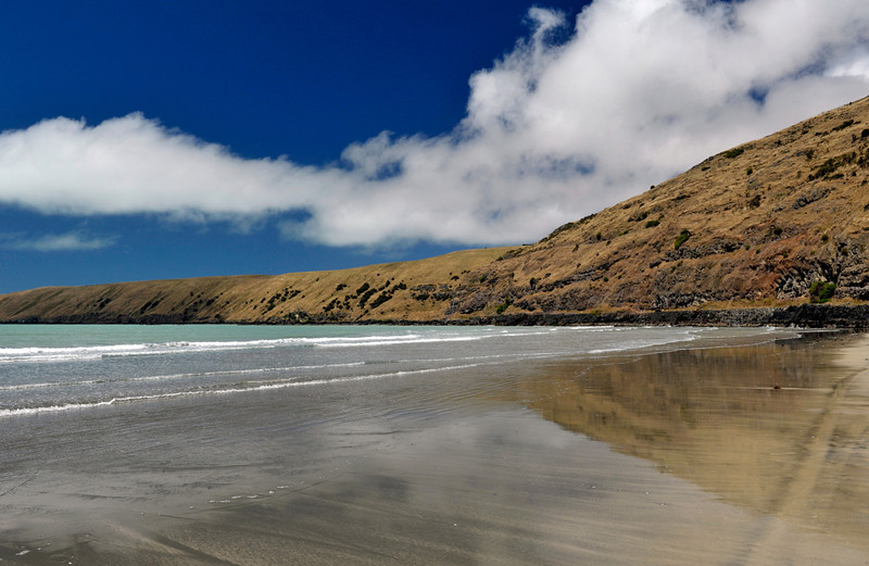 <h4> Fading Tide</h4>Okains Bay, New Zealand