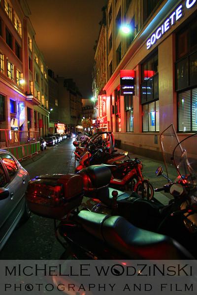 motorcycles in paris_michelle wodzinski