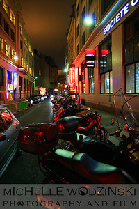 motorcycles in paris_michelle wodzinski